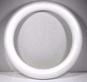 Large Craft Styrofoam Door Wreath Round Circle Form