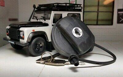Bloqueo De Tapa De Combustible Para Land Rover Defender 90 110 130 TDCi Puma 07 en