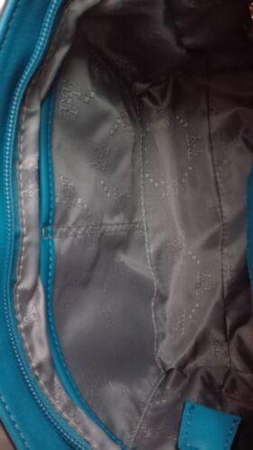 € 79,- Damen-Hand-Tasche Handtasche TT Modell 131231B-BL Blau Neu UVP