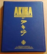 Akira Manga Trading Cards by Cornerstone (1994) 3-Ring Gold Foil Stamped Binder