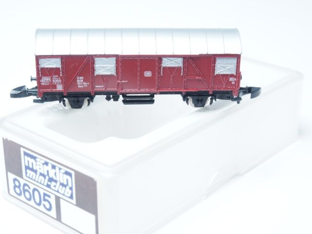 8605 Marklin Z-scale Closed box Goods car for German RR DB