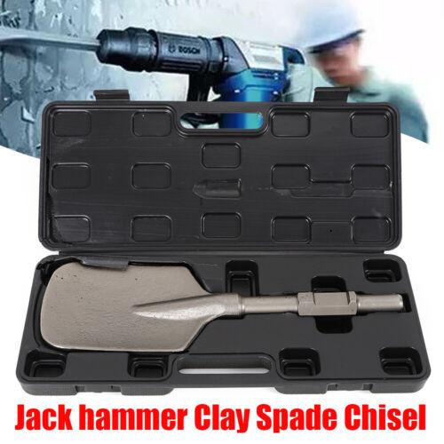 Electric Jack Hammer Demolition Shovel Width Construction Clay Spade Chisel NEW