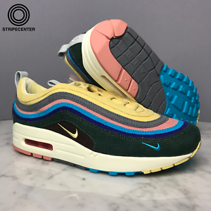 separation shoes ccb20 ef814 Details about NIKE AIR MAX 1/97 'SEAN WOTHERSPOON' - LIGHT BLUE FURY/LEMON  WASH - AJ4219-400