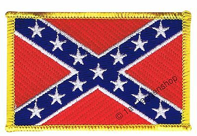 USA Southern States The South Flag Sew-On Appliqué Iron-On Patch 8x6cm