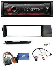 Pioneer-Lenkrad-USB-DAB-Bluetooth-Autoradio-fuer-BMW-3er-E46-98-07-Profi-Rundpin