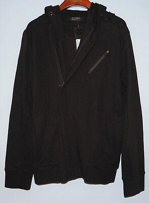 2 (x) Ist Nero Da Uomo Cotone Felpa Con Cappuccio Taglia: Small £ 120 Clonezone-mostra Il Titolo Originale