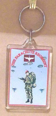 The Parachute Regiment key ring..