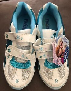 c83424d694c7 Disney Frozen ELSA ANNA Athletic Tennis Shoes with LIGHT UP Girls ...