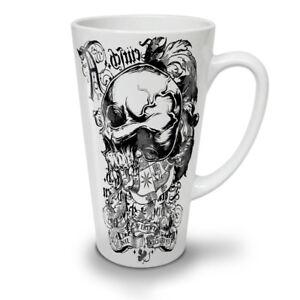 Death Goth Rider Skull NEW White Tea Coffee Latte Mug 12 17 oz | Wellcoda