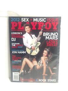 Playboy Magazine avril 2012 Bruno Mars Compagnon & Rock Stars Walking Dead E1864