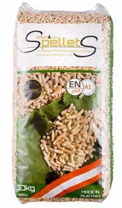Pellet-pellets-legno-abete-Spellets-austriaco-certificato-ENplus-A1-sacco-10-Kg