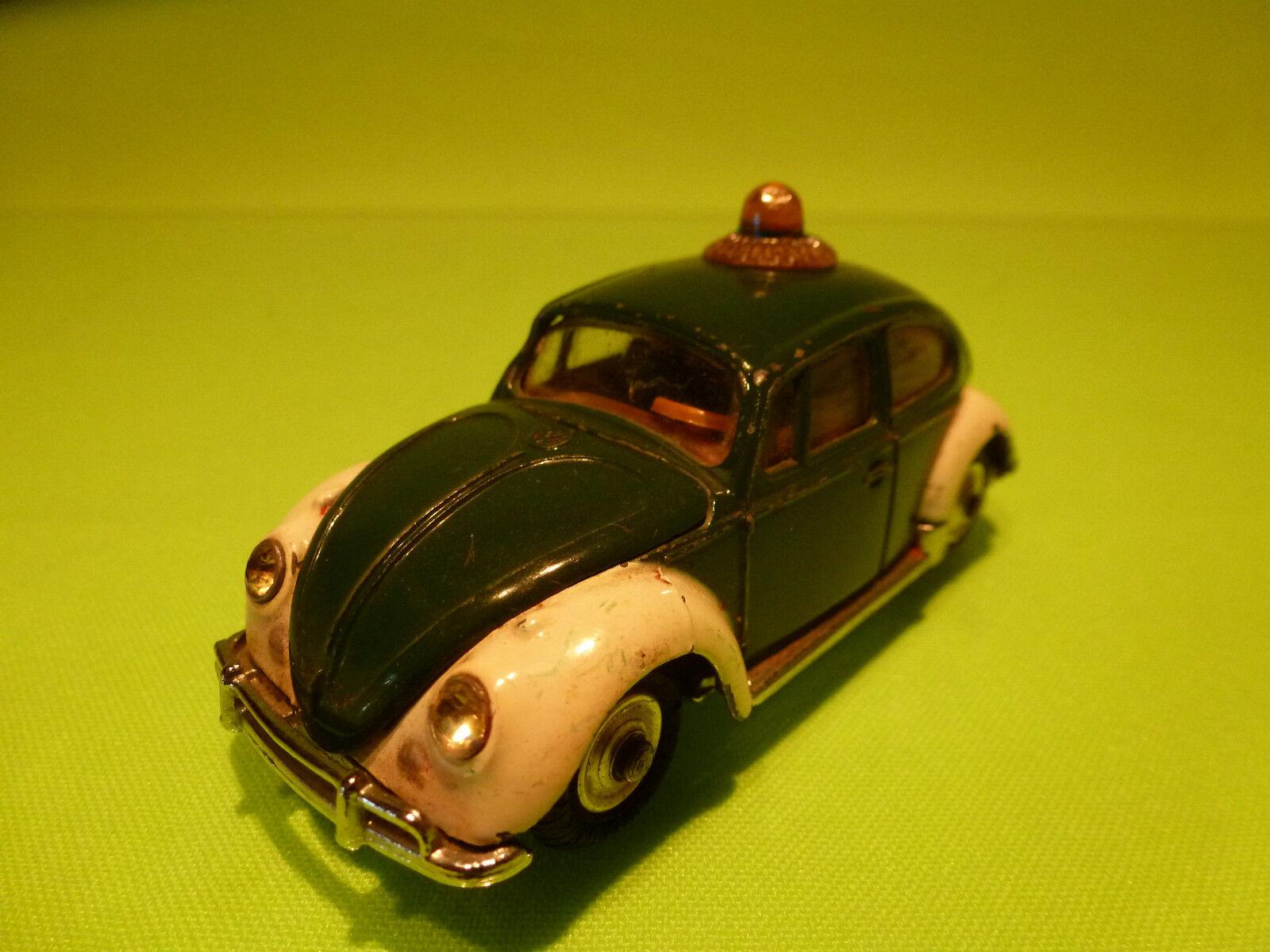 CORGI TOYS 1 43 VW VOLKSWAGEN KAFER - POLICE - RARE SELTEN - GOOD CONDITION