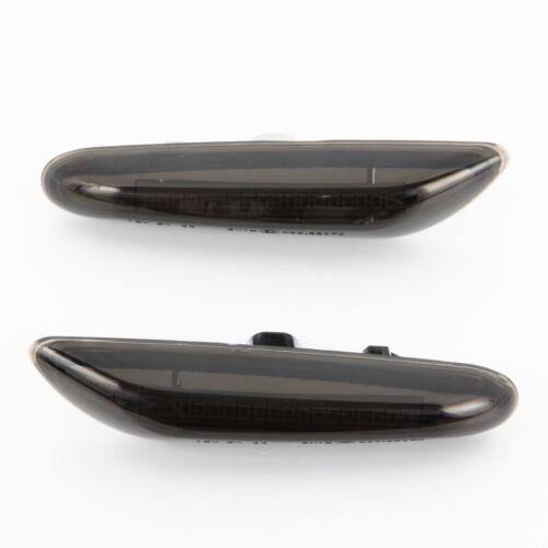 Smoke DEL Clignotants latéraux Noir pour bmw e36 e46 e60 e61 e90 e81 e84 e83 e53