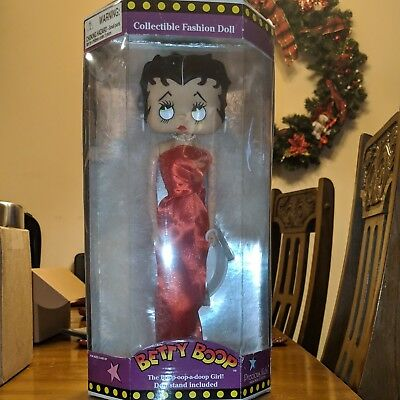 """Betty Boop Flapper Doll 12/"""" Collectiable  Figure New"""