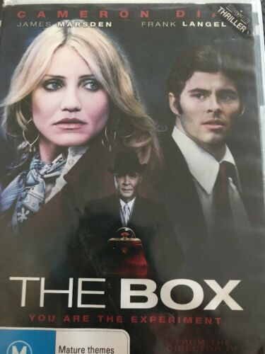 1 of 1 - The Box (DVD, 2010) Camera Diaz You Are The Expedient- Free Post!
