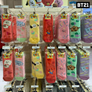 BTS-BT21-Official-Authentic-Goods-Cozy-Socks-Baby-Ver-Tracking-Number
