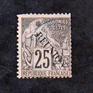 Briefmarke-Reunion-Yvert-Und-Tellier-N-24-Gestempelt-Cyn32-Briefmarke