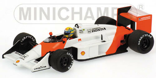 McLaren Honda Mp4-3 Ayrton Senna Test Car 1987 1:43 Model 540874399 MINICHAMPS | France