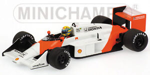 Mclaren Honda Mp4-3 Ayrton Senna Test Car 1987 1:43 Modèle 540874399 Minichamps