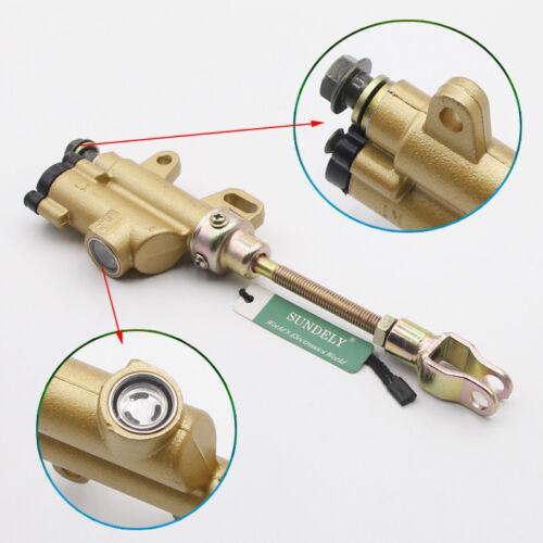 Hydraulic Rear Hydraulic Brake Master Cylinder 110-150cc Dirt PIT Trail Bike Hot