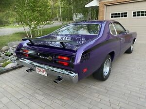 1970 Plymouth Duster 340 4 speed