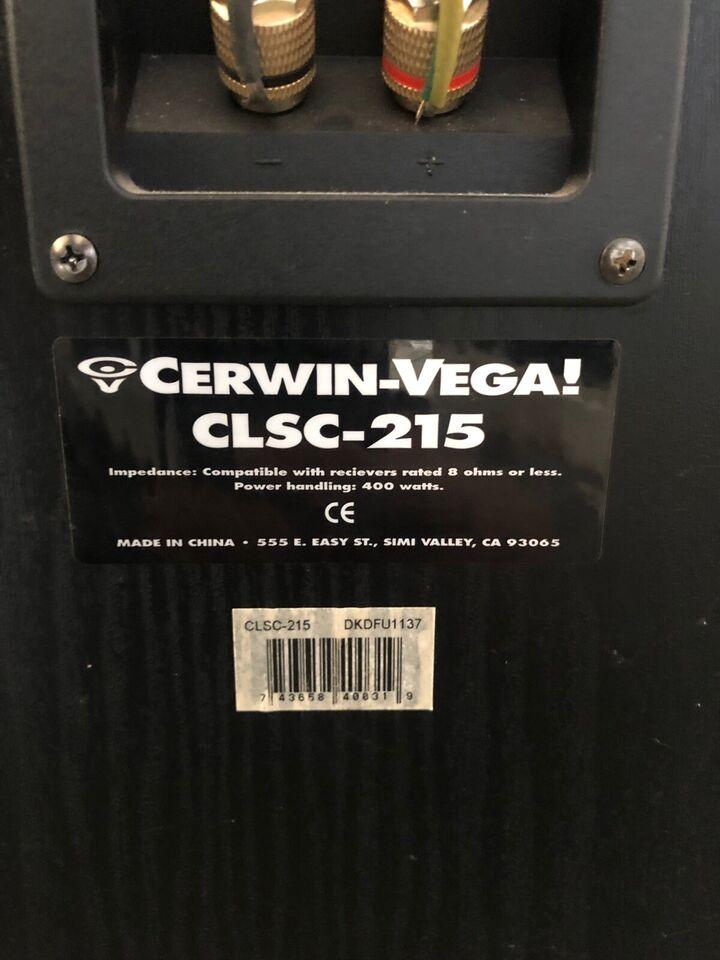Cerwin Vega gildesals disko anlæg, Cerwin Vega denon.