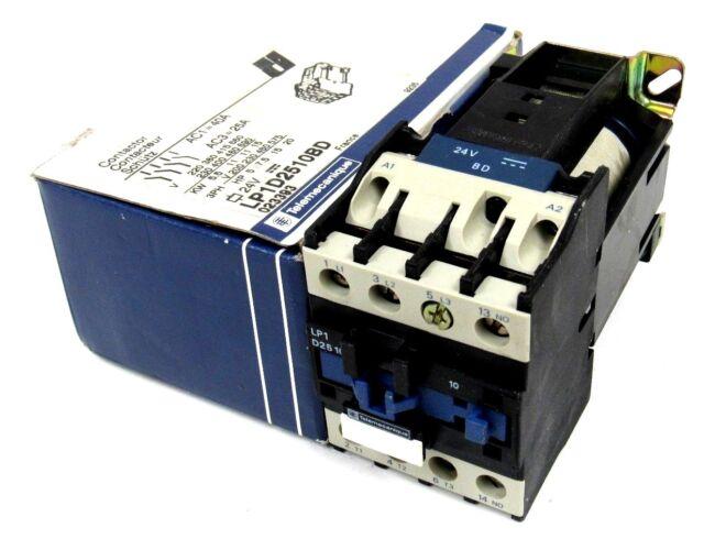 NEW TELEMECANIQUE LP1D2510BD CONTACTOR