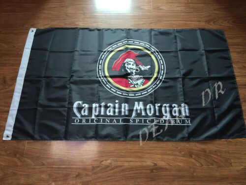 CAPTAIN MORGAN FLAG 3x5FT 90x150CM TWO GROMMETS