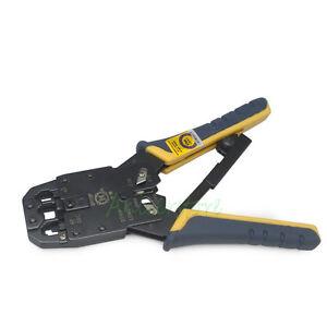 RJ45 11 12 CAT5 Network Lan Cable Crimper Plier Tools RJ45