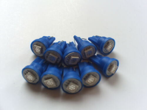 10  Pinball 6.3 Volt LED YELLOW SUPER SMD Replacement Bulbs 555 Wedge Base T10