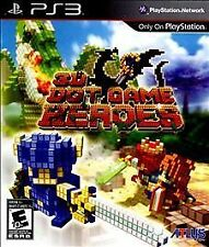 PlayStation 3 3D Dot Game Heroes VideoGames