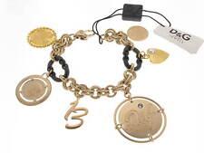 D&G bracciale Token money charms acciaio dorato referenza DJ0480 new