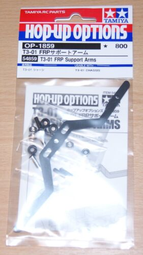 nuevo en paquete Tamiya 54859 T3-01 FRP brazos de soporte T301//Baile//Dual Rider