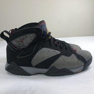b1096081b24b20 Nike Air Jordan Retro VII 7 Bordeaux 2010 Men s 8 Hare Flint ...