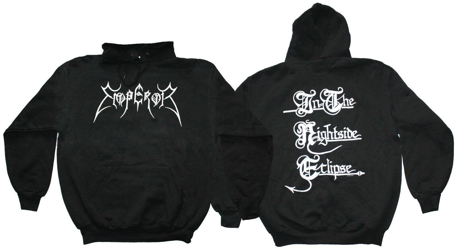 EMPEROR merch official hoodie norwegian BLACK metal alternativ fashion size L XL