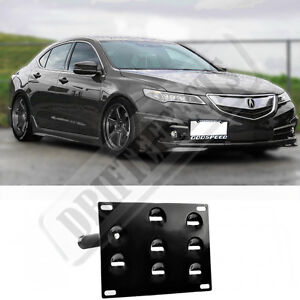 Rev For Up Acura TLX Front Tow Hook License Plate Relocator - Acura license plate