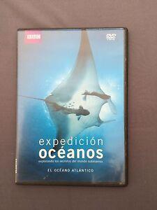 DVD-BBC-EXPEDICIoN-OCEANOS-EL-OCEANO-ATLANTICO-los-secretos-del-mundo-submarino