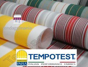 TESSUTO TEMPOTEST PARA\' CUCITO SU MISURA TENDE DA SOLE MQ 14,50 ...