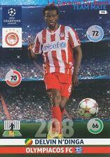 195 DELVIN N'DINGA OLYMPIACOS.FC  CARD CHAMPIONS LEAGUE ADRENALYN 2015 PANINI