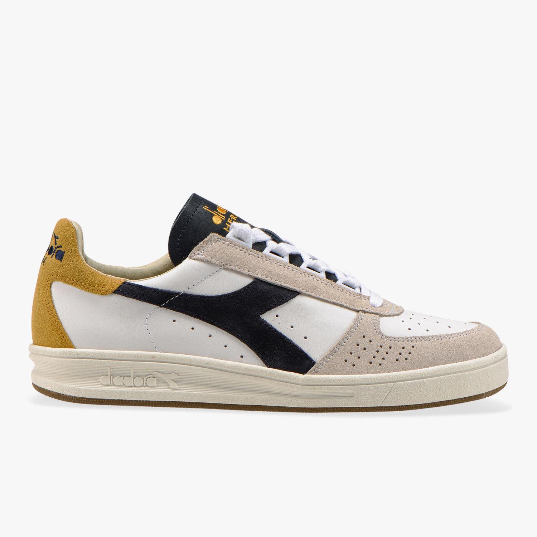 Diadora Heritage B ELITE S L New Collection 50% - White bluee heel yellow