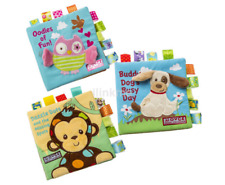 Lovely Baby Kid Child Animal Soft Cloth Book Early Learning Education Toy US