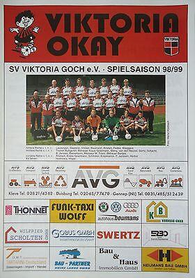 Programm 1998//99 Suhler SV 06 VfB Leipzig II
