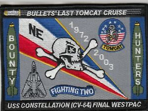 VF-2-BOUNTY-HUNTERS-BULLETS-039-LAST-TOMCAT-CRUISE-1972-2003-PATCH