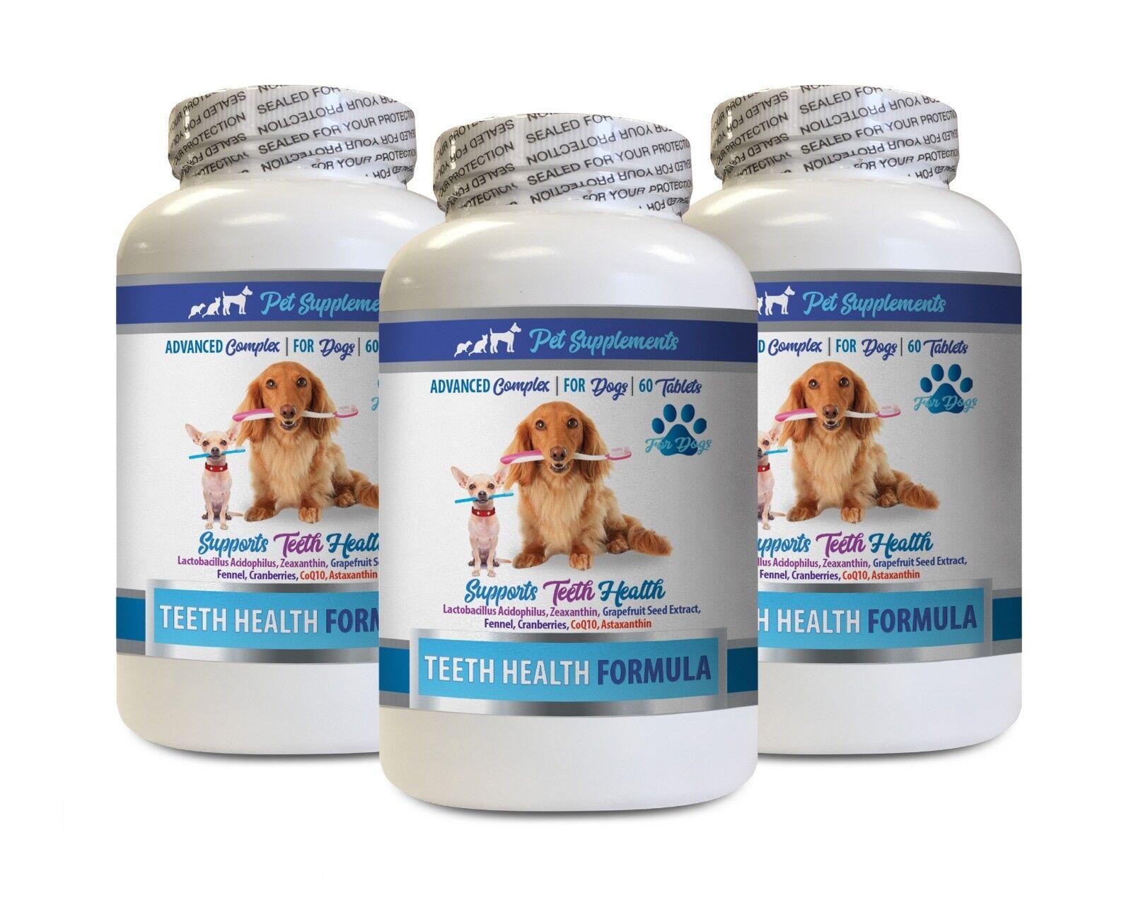 outlet online Oral care for dogs - DOG TEETH TEETH TEETH HEALTH FORMULA 3B - dog vitamin c  contatore genuino