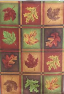 """Fall Leaves Standard House Flag by Toland 28"""" x 40"""", #543 Autumn Leaf"""