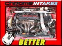 Cf Black Red 95-99 Mitsubishi Eclipse/eagle Talon 2.0l Non-turbo Air Intake Kit