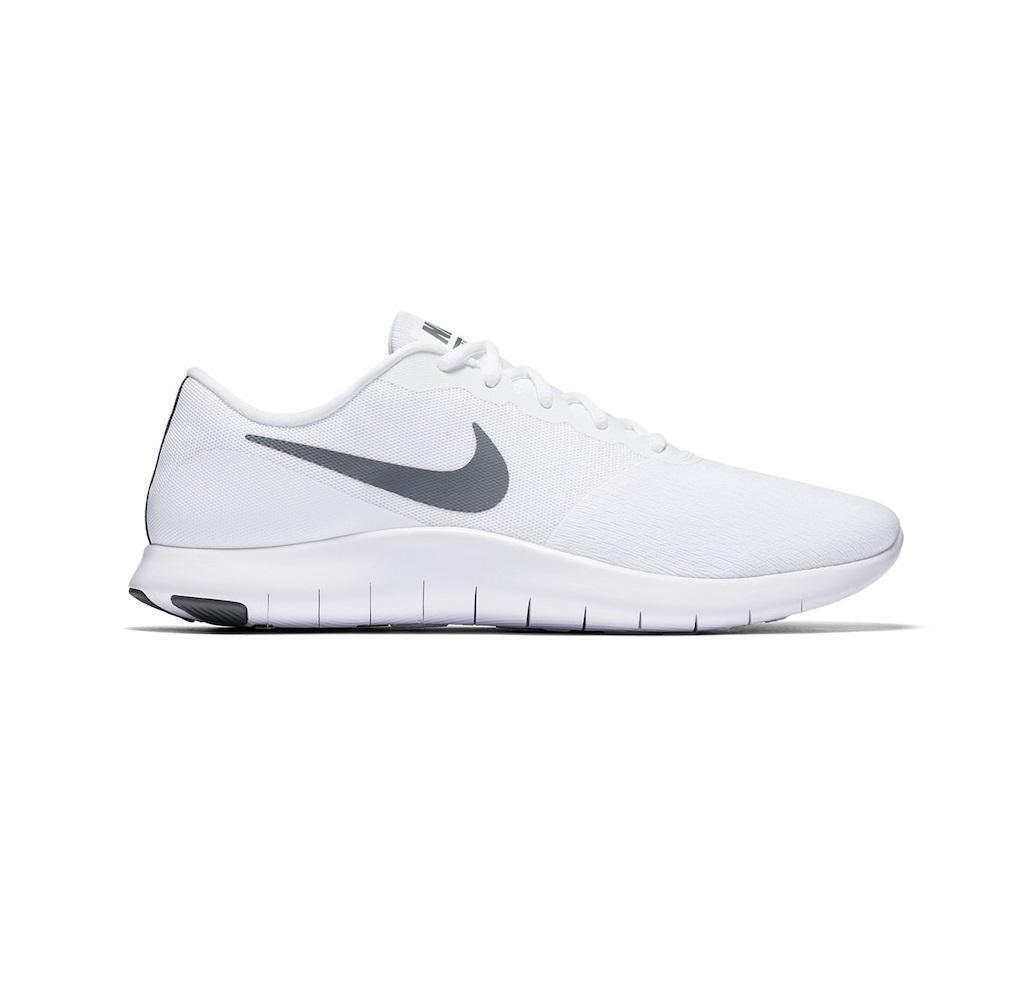 Mens NIKE FLEX CONTACT White Running Trainers 908983 100