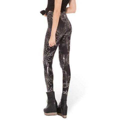 Spiders Web Stretch Funky Leggings New