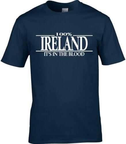 L/'Irlande Nom T-shirt homme REUNION Cadeau Choisissez Tout Nom de famille 3XL 4XL 5XL
