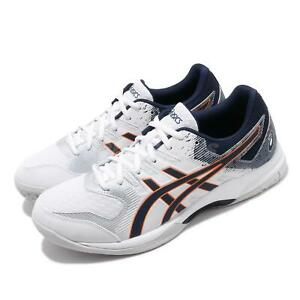 Asics-Gel-Rocket-9-White-Peacoat-Orange-Men-Volleyball-Shoe-Sneaker-1071A030-102
